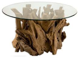 Driftwood Home Decor Driftwood Cocktail Table Rustic Coffee Tables By Innovations