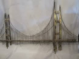 curtis jere wall sculpture of golden gate bridge for sale at 1stdibs