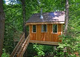 Treehouse Camping Quebec - treehouse 10 refuges perchés mont tremblant