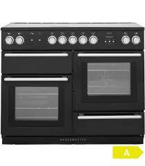 piano de cuisine induction de cuisson induction falcon nex 110 eiblc eu nexus noir chrome