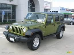 dark green jeep wrangler 2010 rescue green metallic jeep wrangler unlimited sport 4x4