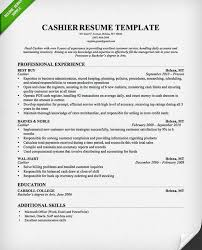 cashier resume example cashier resume create my resume other