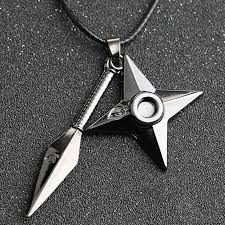 naruto pendant necklace images Naruto necklace kunai shuriken dart weapon konoha logo uzumaki jpg