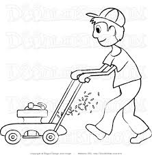 lawn mowing clipart many interesting cliparts