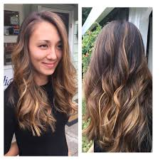 hair highlighted in front beautiful ombre from front back hair by julie highlights hair
