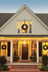 Outside Decorations For Christmas Formal Outdoor Lights House by 21 Festive Front Porches From Across The South Southern Living