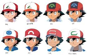 here u0027s how pokemon u0027s ash has evolved through the years even