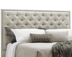 oyster bay king sag harbor tufted upholstered bed in distressed