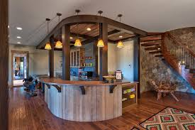 Bamboo Flooring In Basement by Baroque Saddle Bar Stools In Kitchen Asian With Island Bench Next