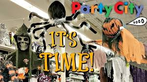 party city halloween props and decorations 2017 youtube