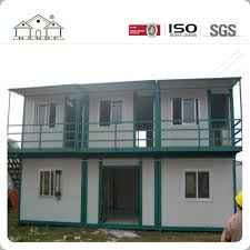 china modular sandwich panel house two storey container house