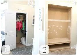 How To Make The Most Out Of A Small Bedroom 25 Days Of Small Space Makeovers Day 6 Entryway Closet Makeover