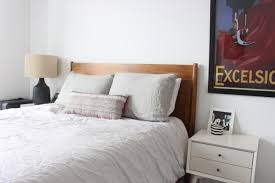 West Elm White Bedroom Design Evolving The Apartment Month Four Design Evolving