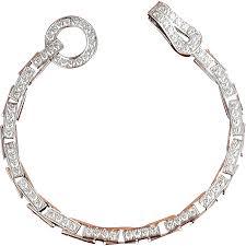 cartier tennis bracelet diamonds images Cartier 3 20 ctw diamond agrafe designer bracelet 18k gold png