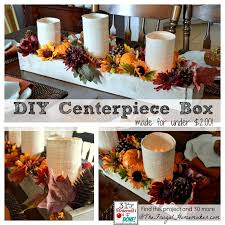 diy wood centerpiece box day 30 of 31 days of pinterest pinned