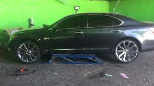 lexus lease durham nc lexus ls 460l on 24 u0027s youtube