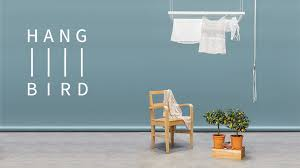 hangbird a drying rack that liberates your living space by samuel