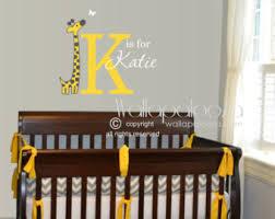 Giraffe Wall Decals For Nursery Giraffe Wall Decals Etsy