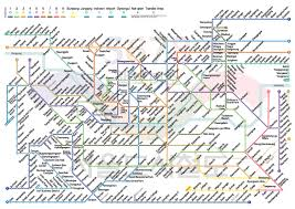 Osaka Subway Map by February 2012 Free Printable Maps