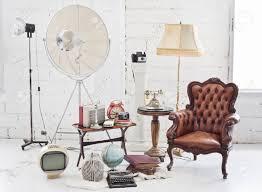 white livingroom furniture retro furniture and decoration in white room stock photo picture