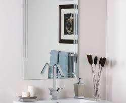 mirror stunning beveled mirror recessed medicine cabinet