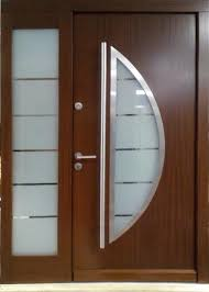 Wood Exterior Doors For Sale Model 018 Modern Wenge Wood Exterior Door W Side Panel Modern