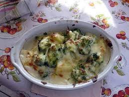 cuisiner le brocolis frais recette de gratin de brocoli au chevre frais