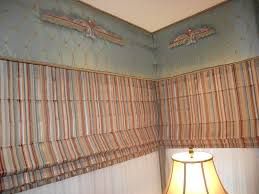 how to make a corner upholstered cornice board gantt u0027s decorating