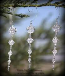 clear icicle ornament creative kit inspiration for diy