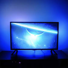 ambient light behind tv set up some bias lighting behind your tv with this 9 led light