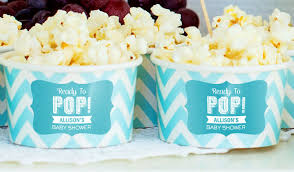 popcorn sayings for wedding baby shower labels stickeryou products