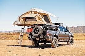 nissan frontier bed rack decked out for bug out recoil offgrid