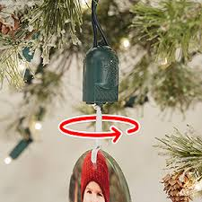 rotating ornament hook