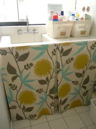 How To Make A Bathroom Sink Skirt by Laundry Room Sink Skirt A Dose Of Pretty