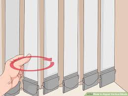 Vertical Blind Stem Replacement 3 Ways To Repair Vertical Blinds Wikihow