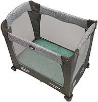 graco travel lite ultra comfy crib with stages two level bassinet