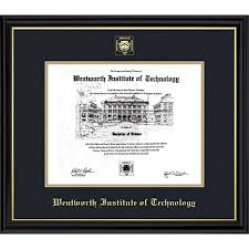 tech diploma frame wentworth institute of technology coronado diploma frame online