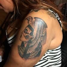 smoove3b black and white cleopatra shoulder pharaoh lady pharaoh