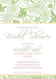 bridal shower invitations bridal shower invitation downloadable