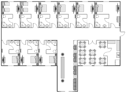 hvac floor plan hvac plans solution conceptdrawcom information technology team