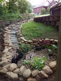River Rock Garden Bed How To Build A Rock Garden Bed