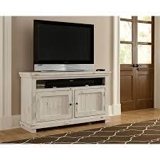 Progressive Willow Bedroom Set Willow Distressed White 54 Inch Console Progressive Furniture Tv