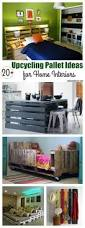 20 upcycling pallet ideas for home interiors