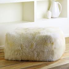 trend alert how you can use those sheepskin rugs you see