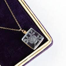 crystal rock pendant necklace images Best vintage rock crystal necklace products on wanelo jpg