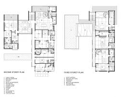architecture exciting two story house floor plan with legend