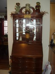 my antique secretary desk decorate for christmas in 09 antiques