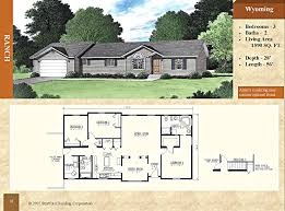 2 Bedroom Ranch Floor Plans by Modular Ranch Floor Plan Wyoming 1590 Sq Ft Stratford Home