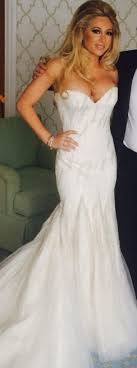 zunino wedding dresses zunino mermaid size 0 used wedding dress nearly newly wed