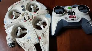 air hogs star wars millennium falcon quad detailed review youtube